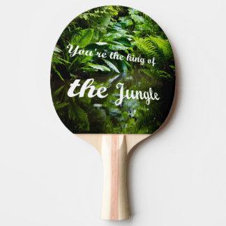 Pala De Ping Pong Rey de la selva