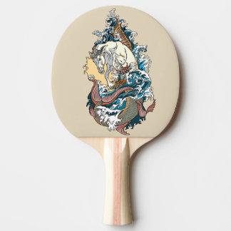 Pala De Ping Pong seahorse mitológico