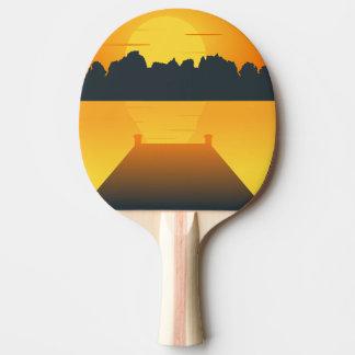 Pala De Ping Pong sistema del sol