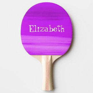 Pala De Ping Pong Sombras suaves personalizadas de rayas de color