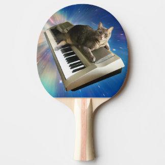 Pala De Ping Pong teclado del gato