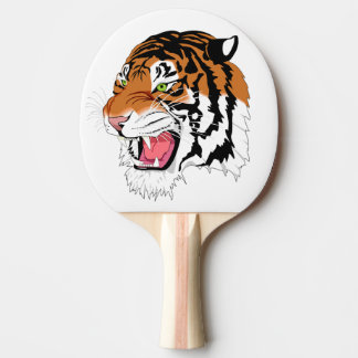 Pala De Ping Pong Tigre del rugido