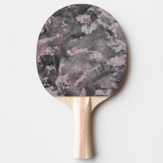 Pala De Ping Pong Tinta negra en el Highlighter rosado
