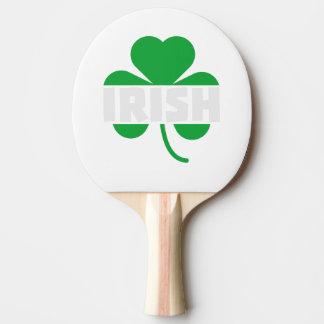 Pala De Ping Pong Trébol irlandés Z2n9r del cloverleaf