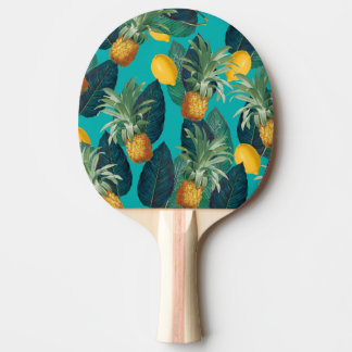Pala De Ping Pong trullo del pineaple y de los limones