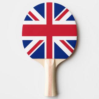 Pala De Ping Pong Union Jack - bandera del Reino Unido