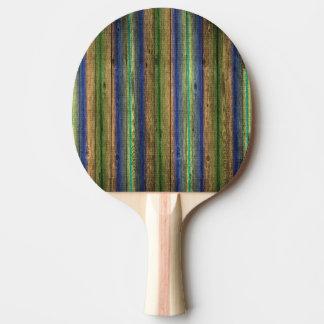 Pala De Ping Pong vintage de madera colorido de la pared