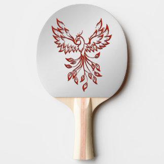 Pala De Ping Pong Vuelo de una plata de Phoenix