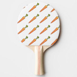 Pala De Ping Pong Zanahoria