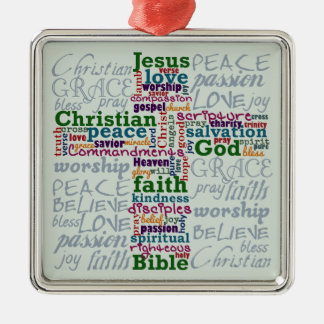 Palabra religiosa cristiana Art Cross Adorno De Reyes