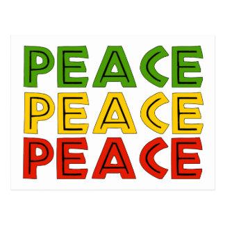 Palabras de la paz postal