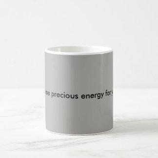 palabras de la taza de café de la sabiduría