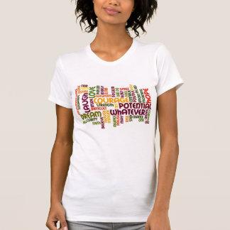 Palabras de motivación #1 - actitud positiva camiseta