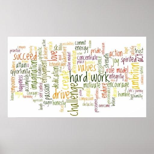 Palabras de motivación #2 posters