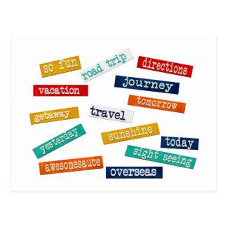 Palabras de motivación del viaje de las vacaciones