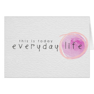 palabras del cariño tarjeta pequeña
