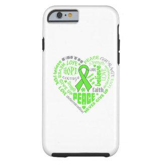 Palabras del corazón de la conciencia de la funda de iPhone 6 tough