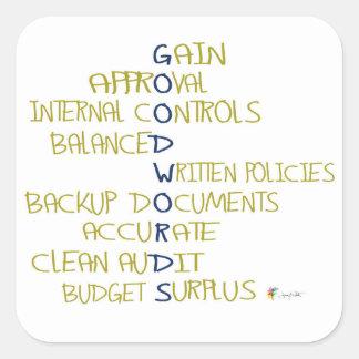 Palabras del pegatina el | de la contabilidad