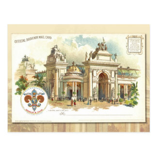Palacio de las humanidades - tarjeta 1904 del