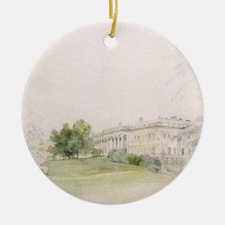 Palacio de Razumovsky (lápiz y w/c) Ornamento Para Arbol De Navidad