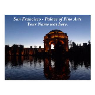 Palacio de San Francisco de la postal de las