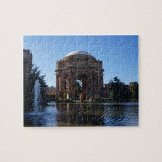 Palacio de San Francisco del rompecabezas fino
