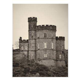 Palacio del castillo de Edimburgo - postal