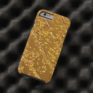 palanca del oro funda de iPhone 6 tough
