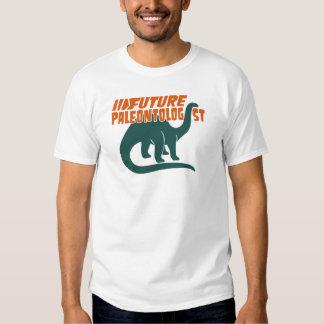Paleontólogo futuro camiseta