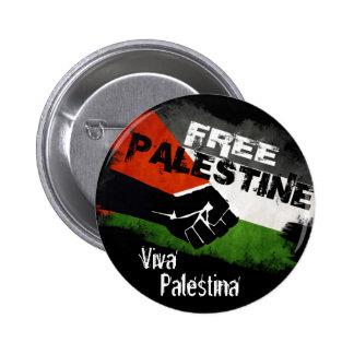 Palestina libre - Viva Palestina Chapa Redonda De 5 Cm