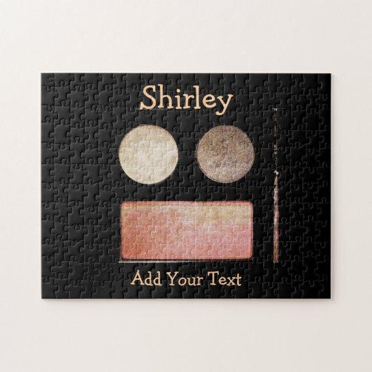 Paleta-Cara del maquillaje de Shirley Taylor Puzzle