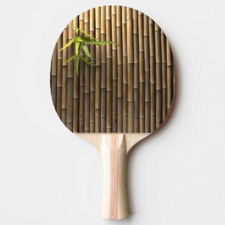 Paleta de bambú del ping-pong de la pared pala de ping pong
