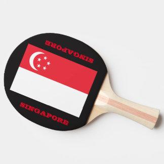 Paleta del equipo de Singapur de los tenis de mesa Pala De Ping Pong