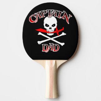 Paleta del ping-pong de capitán Dad Pala De Ping Pong