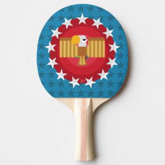 Paleta del ping-pong de Eagle de la libertad Pala De Ping Pong