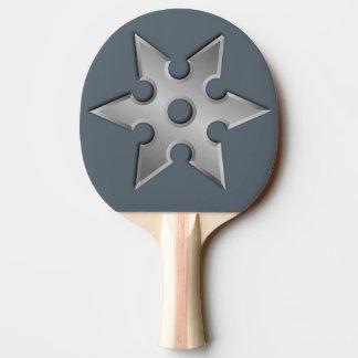 Paleta del ping-pong de la estrella de Ninja Pala De Ping Pong