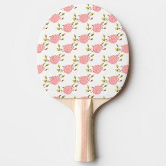 Paleta del ping-pong de la impresión del rosa pala de ping pong