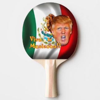 Paleta del ping-pong de Viva México del triunfo de Pala De Ping Pong