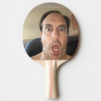 Paleta del ping-pong para las risas pala de ping pong