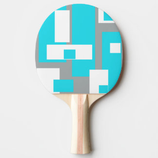Paleta enrrollada del ping-pong de la tranquilidad pala de ping pong