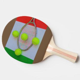 Paleta ITALIANA del ping-pong del TENIS Pala De Ping Pong