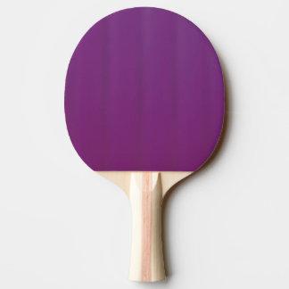 Paleta púrpura del ping-pong de la uva pala de ping pong