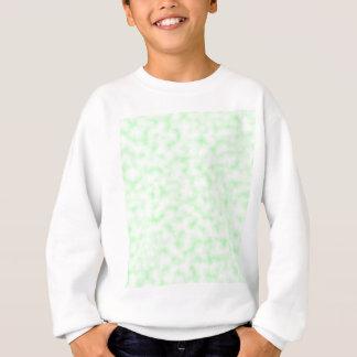 Palidezca - el modelo abstracto verde y blanco de sudadera