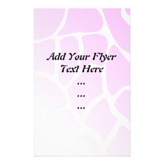Palidezca - el modelo rosado folleto 14 x 21,6 cm
