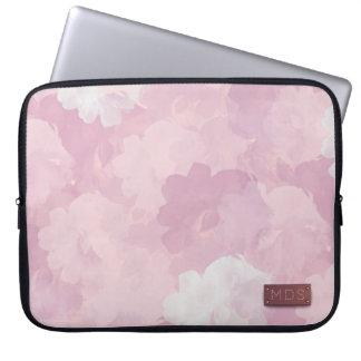 Palidezca - la manga rosada del ordenador portátil funda para portátil