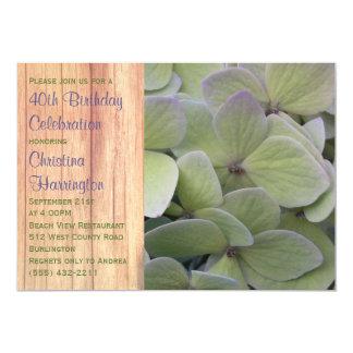 Palidezca - las invitaciones verdes de la fiesta invitación 12,7 x 17,8 cm