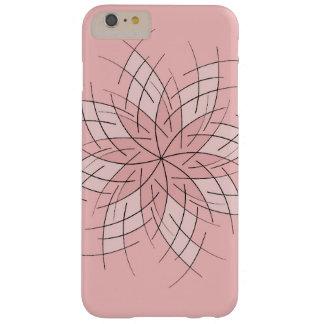 Pálido - caso rosado de Iphone Funda Barely There iPhone 6 Plus