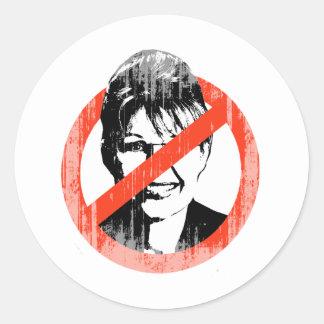 Palin anti Faded png Etiquetas