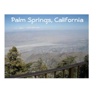 Palm Springs, postal de California