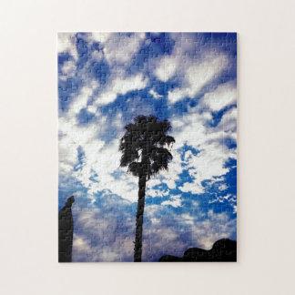 Palma en las nubes puzzle